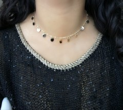 Boho Coins Gold Chockers Necklace Silver Round For Women Coin Necklaces Pendants Choker Necklace