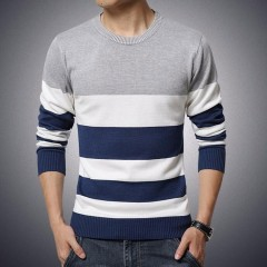 Men Casual Sweaters Mens O -Neck Knit Warm Pullover Masculino Sueter Pull Homme Jersey Plus Size