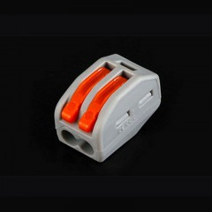 shipping PCT-212 Mini connecto quick push-in wiring fast connector For Junction box 2 pin termina