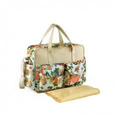 Lovely multicolored baby diaper bag Large-capacity fashionable mother&amp#39s maternity bag  baby