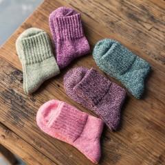 pairs New Solid Winter Thermal Cashmere Socks Women Warm Rabbit Wool Socks Womens Thicken Socks G