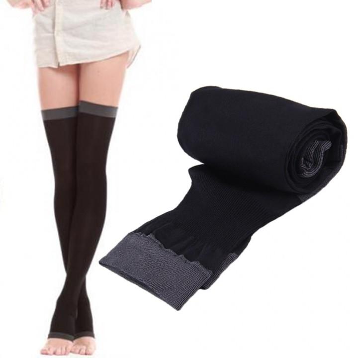 Stocking Breathable Over Knee Socks Leg Slim Thighfat Burn Pantyhose For Girls Sleep Wearable Pre