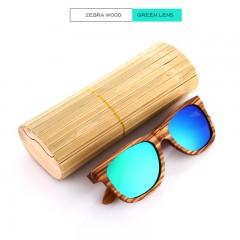 Wooden Sunglasses Polarized Men Bamboo Case Women Brand Designer Vintage Wood Sun Glasses Oculos