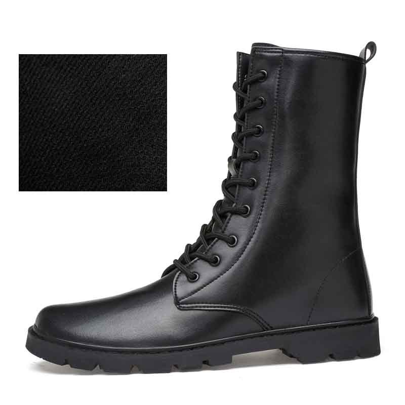 72905ce6a06 Item specifics  Seller SKU KkUSEulWX1s  Brand  BAIDLY Mens Ankle Boots  Autumn Winter High Top Martin Boots Genuine Leather Male Casual Shoes Warm  ...