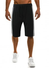 Mens Shorts Casual Bermuda Brand Compression Simple And Solid Color Male Cargo Shorts Men Linen F
