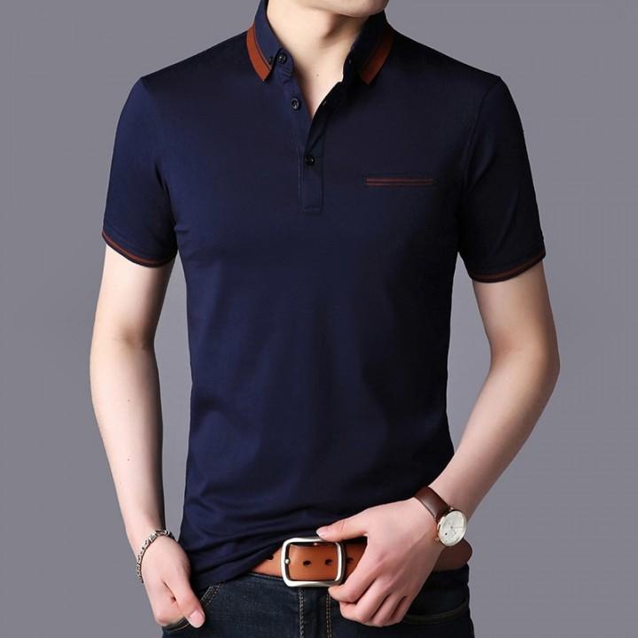 bd25befbe7e3 New Fashion Brands Summer Polo Shirt Men Turn Down Collar Slim Fit Polo  Shirts Short Sleeve