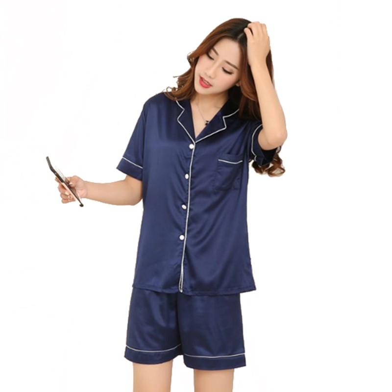 Plus Size Short Sleeve Sleepwear Homewear Night Wear V-neck Pajamas Sets   Product No  2154647. Item specifics  Seller SKU UjnJKvYHENM  Brand  c5fe6e7f7