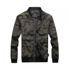 autumn new tactical jacket man stand collar camouflage high quality casual jacket mens brand Oute