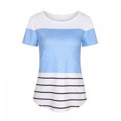 Womens T-Shirts hit colors O-Neck 2018 Summer casual female Tee top TShirts short sleeves mujer T