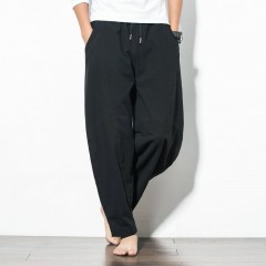 Autumn Plus Size Hip Hop Harem Pants Men Casual Loose Trousers Drawstring Joggers 5XL Chinese Sty