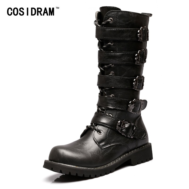 1d566377 ... Boots PU Leather Skull Winter Shoes Male Botas Hombre High top Men Shoes:  Product No: 2145163. Item specifics: Seller SKU:bERtwYFdUc0: Brand:
