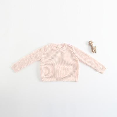 ec9d7939f Wear Sweater boy and girl Knitting Long Sleeved Sweater Round Neck ...