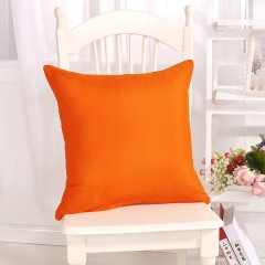 Candy Color Cushion Cover Solid Color Throw Pillow Case For Sofa Home Decorative Pillowcase Car C