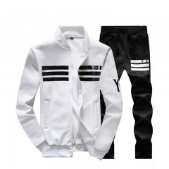 Men Tracksuit Mens Sportswear Autumn Casual Coat Jacket+Pants Sets Fitness Male Clothing Suit Mol