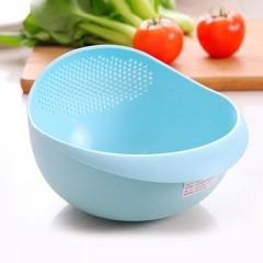 color kitchen use rice wash pot plastic drainer vegetable fruit basket kitchen storage bowls plas