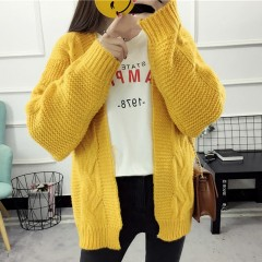 Cardigan Sweater Autumn Winter Fashion Knitted Long Sleeve Cardigan Ladys Casual Sweater Women kn