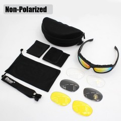C6 Military Goggles Bullet-proof Army Polarized Sunglasses X7 4 Lens Men Hunting Shooting Airsoft