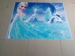 backdrop Frozen Crystal Palace Castle Birthday Party photo background Dessert table Cartoon backg