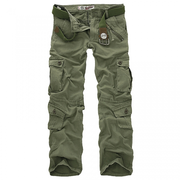 0d544e7444c88 sale free shipping men cargo pants camouflage trousers military pants for  man 7 colors Army Green200004889