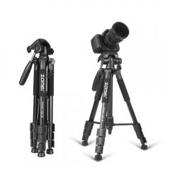 Zomei Tripod Z666 Professional Portable Travel Aluminium Camera Tripod Accessories Stand with Pan Blue173