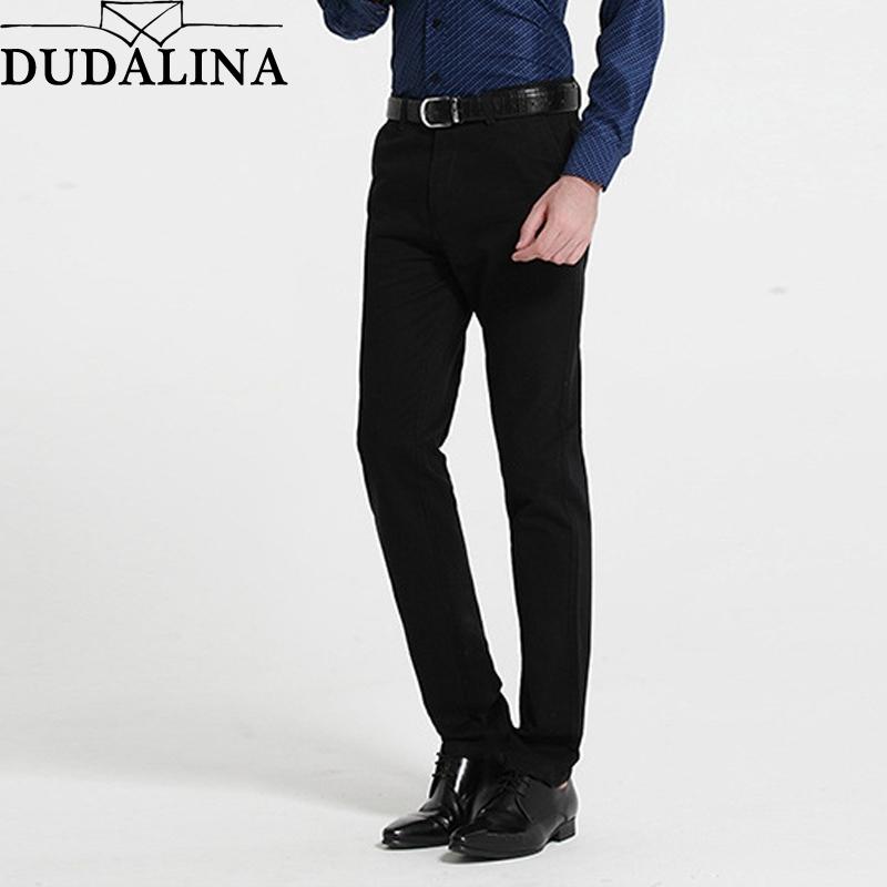 1fb89be42da Classic Business Casual Pants Men Dress Brand Clothing Mens Formal ...