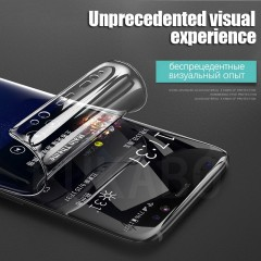Curved Protective Film For Samsung Galaxy S8 S9 Plus Screen Protector soft Film For Samsung Note