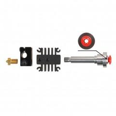 3D Printer Parts V6 Hotend XCR-BP6 for 1.75mm Filament Straight Through Throat 12V 24V Heater Ext