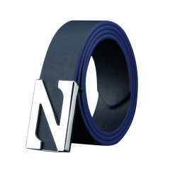 belts for men high quality Mens Leather Smooth Girdle Buckle Waistband Waistband Leisure Belt Str