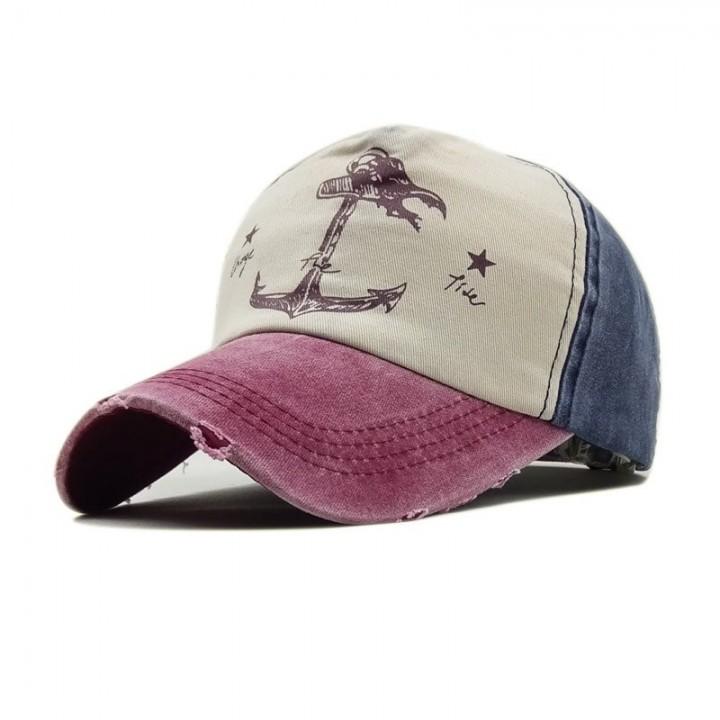 b637b6c72 snapback hats summer hat Man Woman cotton baseball caps do old pirate ship  anchor gorras wash cap