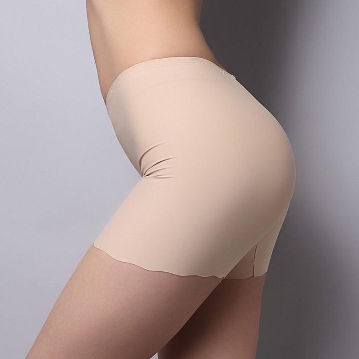 Soft Seamless Safety Short Pants Summer Under Skirt Shorts Modal Ice Silk Breathable Short Tights