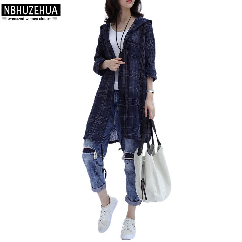 921a29c5428 Item specifics  Seller SKU oeEICPqmeDb  Brand  NBHUZEHUA A367 Women Blouse  Shirts Summer Plus Size Hooded Long Sleeve ...