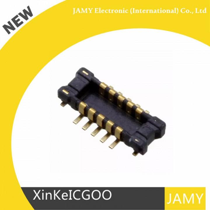 shipping 100PCS AXE610124 CONN HEADER 0 4MM 10 POS SMD