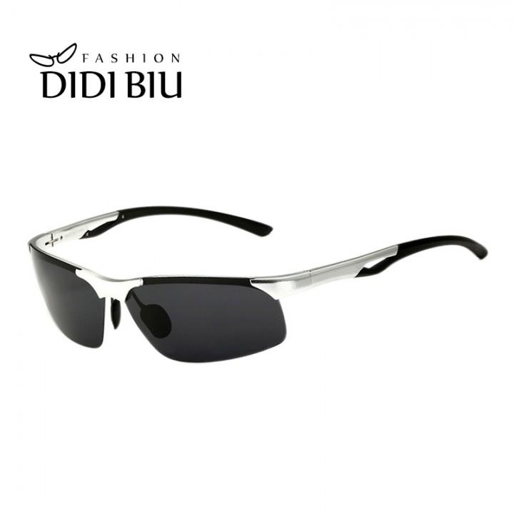 20a13eaf932 Military Aluminum Men Sunglasses Premium Driver Cool Driving Sun Glasses  Lady Rimless Adjustable