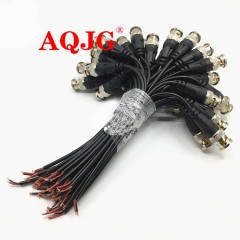 Monitor BNC Connector with 18cm Wire Q9 Terminal tail Cable For CCTV Camera