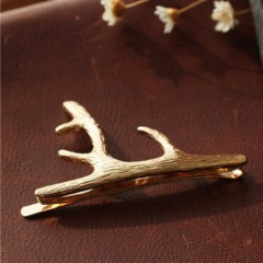 Elk Antler Hair Clip Headband Hair Accessories Hollow Headpiece Boho