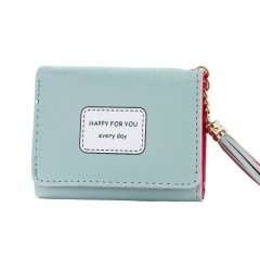 Short Tassel Clutch Wallet Large Capacity Wallets Female Purse Money Bag Lady Purses Phone Pocket