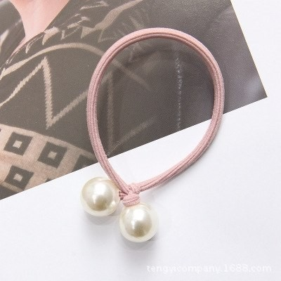 knotted pearl hair rope hair band hair elastic band high elasticity