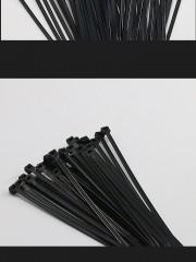 2 get 1 200pcs white/black nylon cable ties 8*200mm self-locking plastic straps fireproof aiti-co