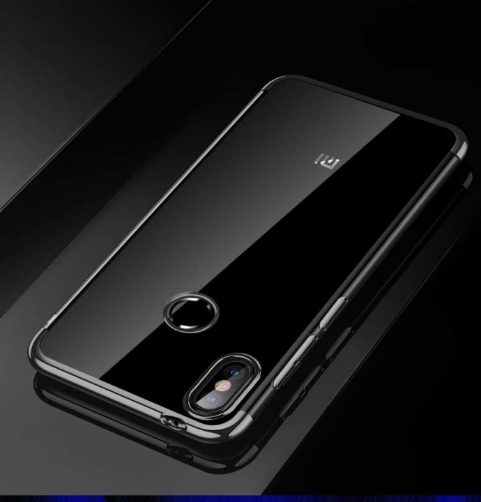 pretty nice a8160 b3b44 For Xiaomi Mi A2 Lite Case Luxury Laser Plating Soft Clear Back Cover For  Xiaomi Mi A2 MiA2 Phone