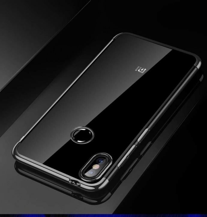 pretty nice a8160 b3b44 For Xiaomi Mi A2 Lite Case Luxury Laser Plating Soft Clear Back Cover For  Xiaomi Mi A2 MiA2 Phone