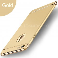 Plating Scrub Protective case For iPhone 6 6S 7 8 Plus Cover Bumper On The For Apple iPhone 7 Plu