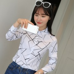 Blouses Womens Tops and Blouse White Autumn Loose Blouse Women Long Sleeve Blouse Woman Ladies Sh