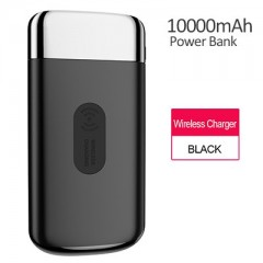 JOYROOM Qi Wireless Charger 10000mAh Power Bank Dual USB 2.1A Fast Charger External Battery Power