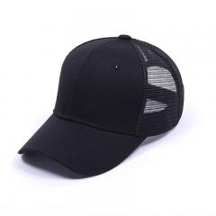 Glitter Ponytail Baseball Cap Women Snapback Hat Summer Messy Bun Mesh Hats Casual Adjustable Spo