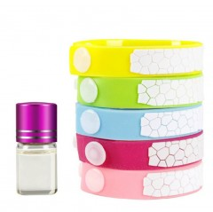 Cube Anti Mosquito Repellent Bracelet With 4 Refill Pellets Repellent Band Mosquito Killer Outdoo