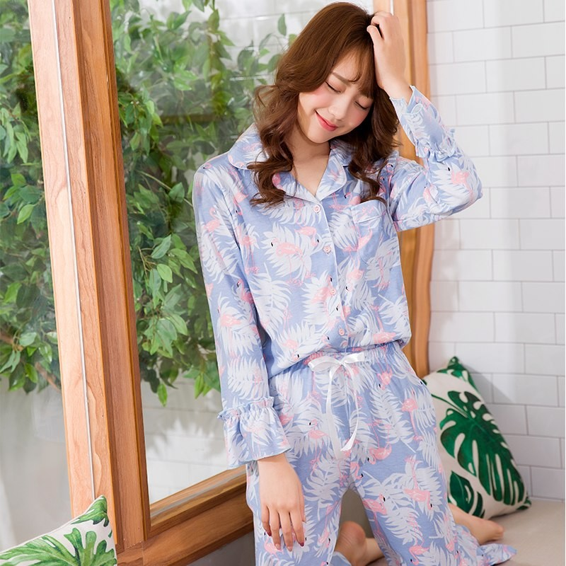 9a3abd42f4 Winter Long Sleeve Pajamas Women Suit Girl Pijamas Mujer 100% Cotton  Comfortable Homewear Leisure  Product No  2818569. Item specifics  Seller  ...