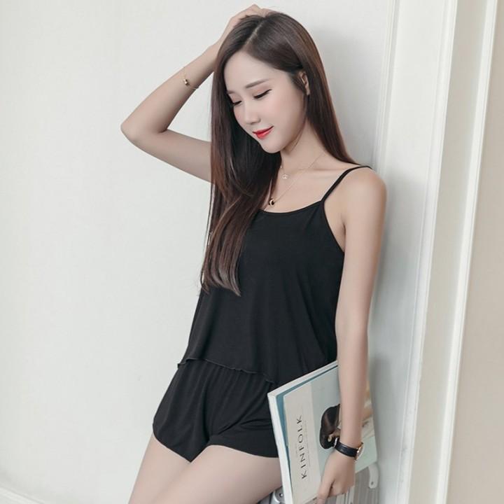 76119b6c99 Pajamas Sets 2018 Women Casual Sexy shorts Homewear Sleepwear Lady pajamas  Suits Sets Pure Cotton