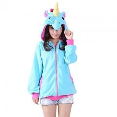 Sweatshirt Cartoon Unicorn Hoodies Women Autumn Fleece Sweatshirts bts Harajuku Clothes Hooded Ja
