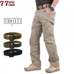 Military Tactical Pants Men With Tactical Belts Combat Trousers Army Cargo Pants Men Military SWA army green S