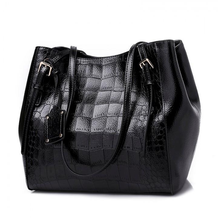 383f8bc66c69 Crocodile Casual Tote Bags Handbags Women Famous Brands Big Shoulder Bag  Female Hobo Large Capaci